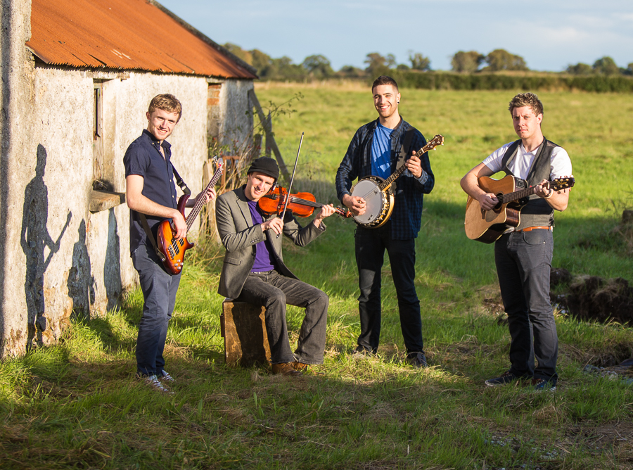 Unique Irish Trad Band for hire with Irish Entertainment
