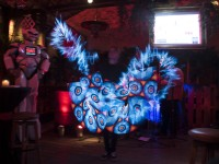 digital fire art for corporate events